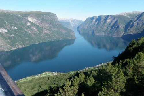 This is Aurlandsfjorden in the western parts of Norway. Photo: Richard Rees.