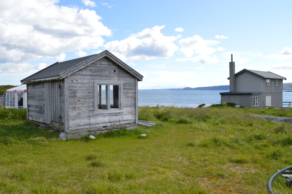 The deserted fishing village Hamningberg in the far North of Norway. Eerie... Photo: HP