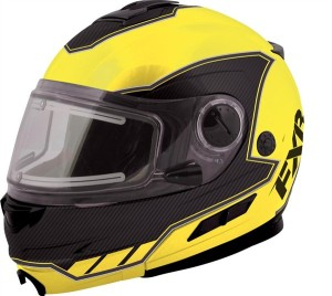 I am considering this FXR helmet with electric visor to replace my old battered lid.