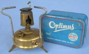 I have one of these, a 1960s model Optimus 00 kerosene stove.
