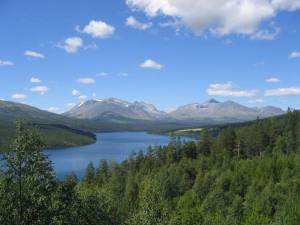 The Rondane Mountains are fantastic. A national tourist road, 27, takes you through this scenery.