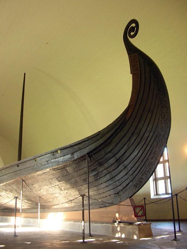The Oseberg ship. (Photo: Grzegorz Wysocki)
