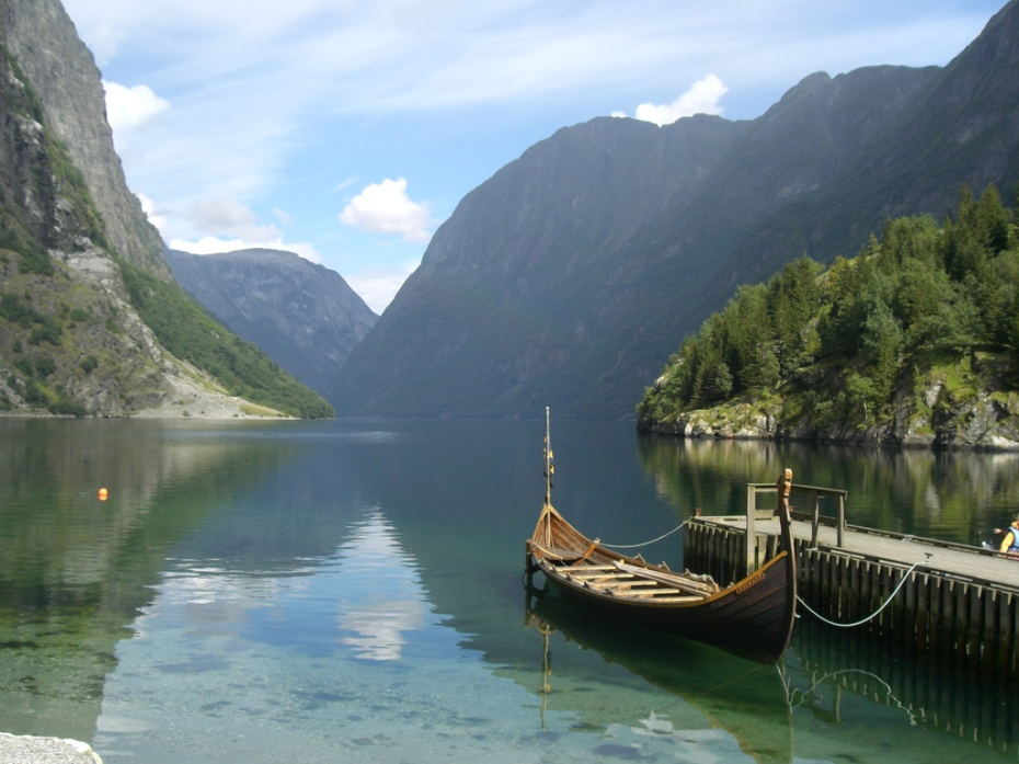 The Nærøyfjorden. (Photo: Leif)