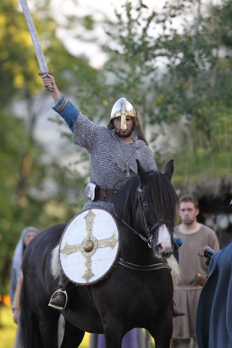 From The Battle of Stiklestad open air theatre. (Photo: Unknown)