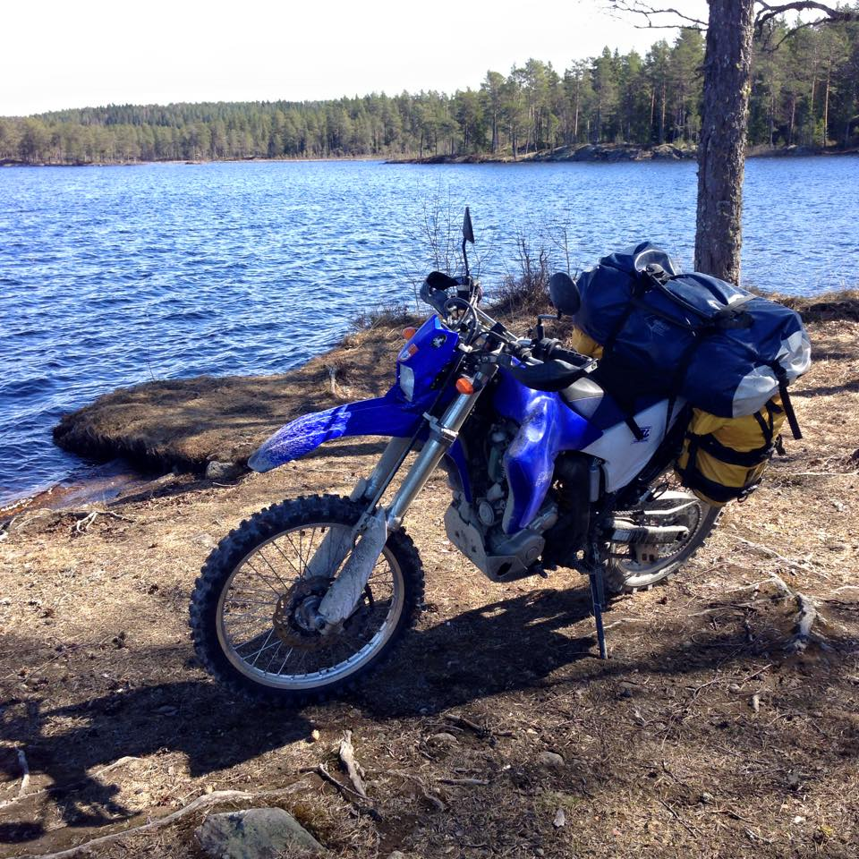 Aiming at max comfort, I packed my WR250R way too heavy for gravel riding on my test trip. Now it's time to lose some weight!