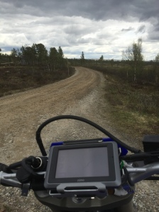 Very sweet gravel roads on the route I found.