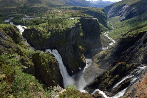 Hardangervidda. (Image from www.nasjonaleturistveger.no)