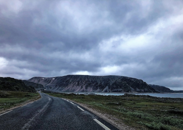The road towards Berlevåg is something else!