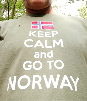 Keep calm and go to Norway